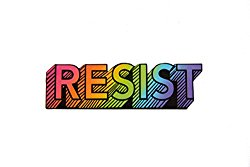 """Resist"" Sticker"