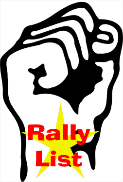 Find Protest and Rallies at RallyList.com